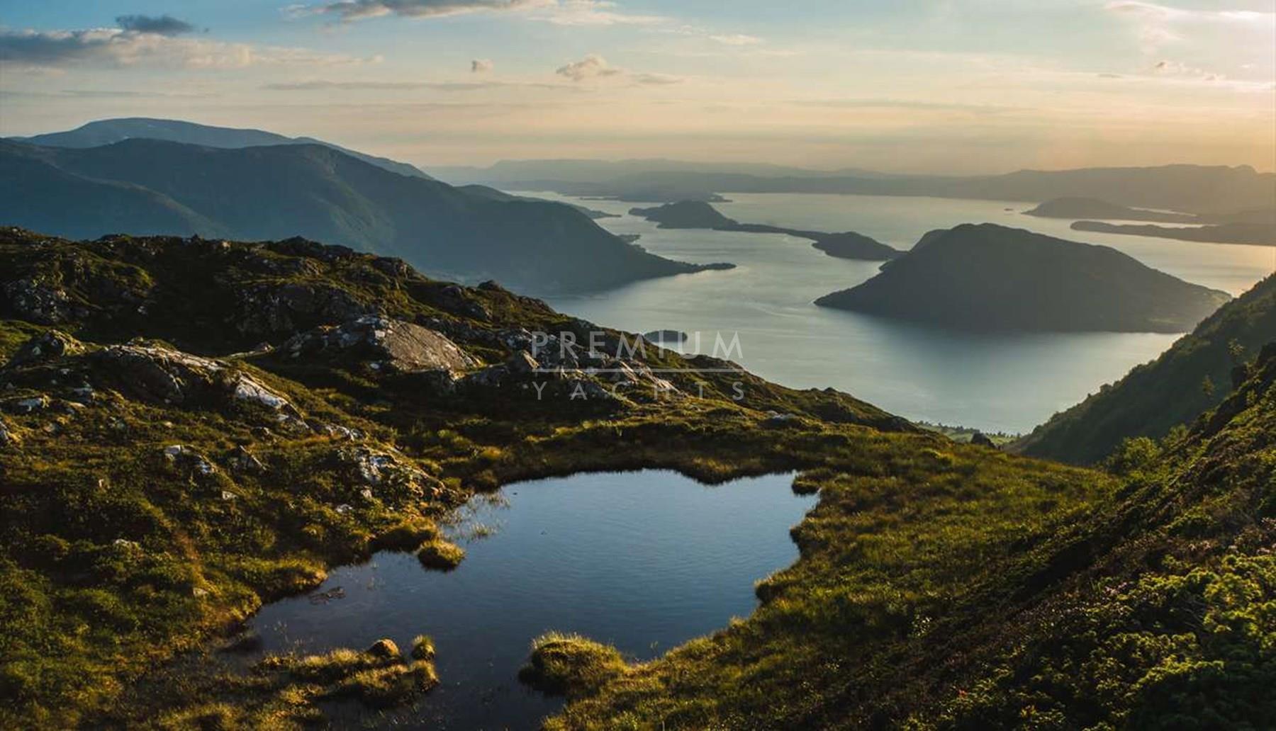 From Lysefjorden to Hardangerfjord